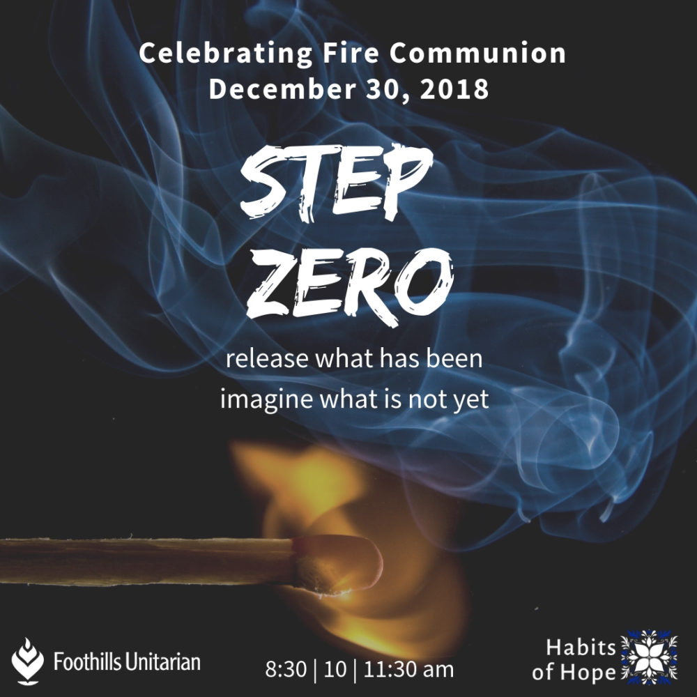 Fire Communion sermon Image