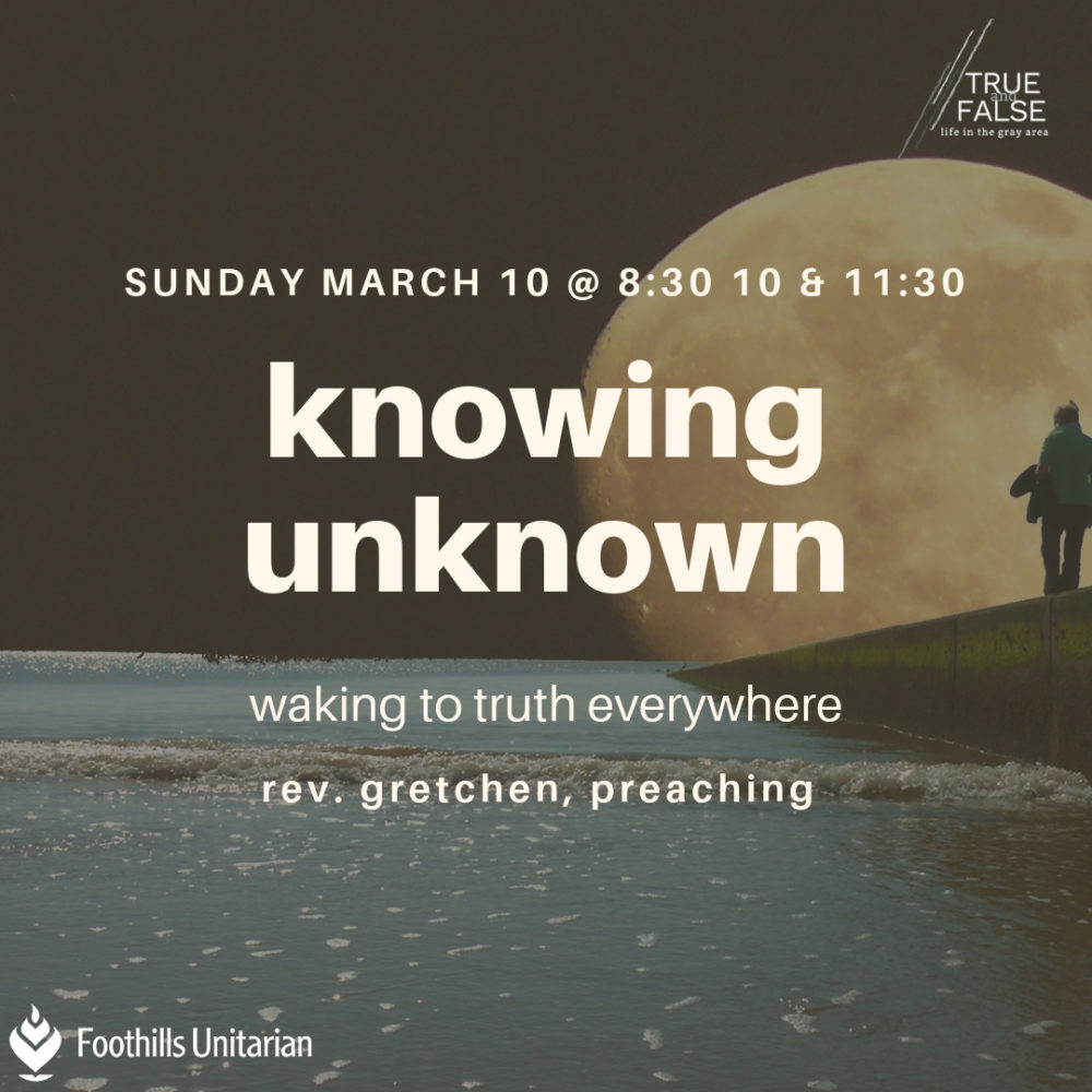 Knowing Unknown