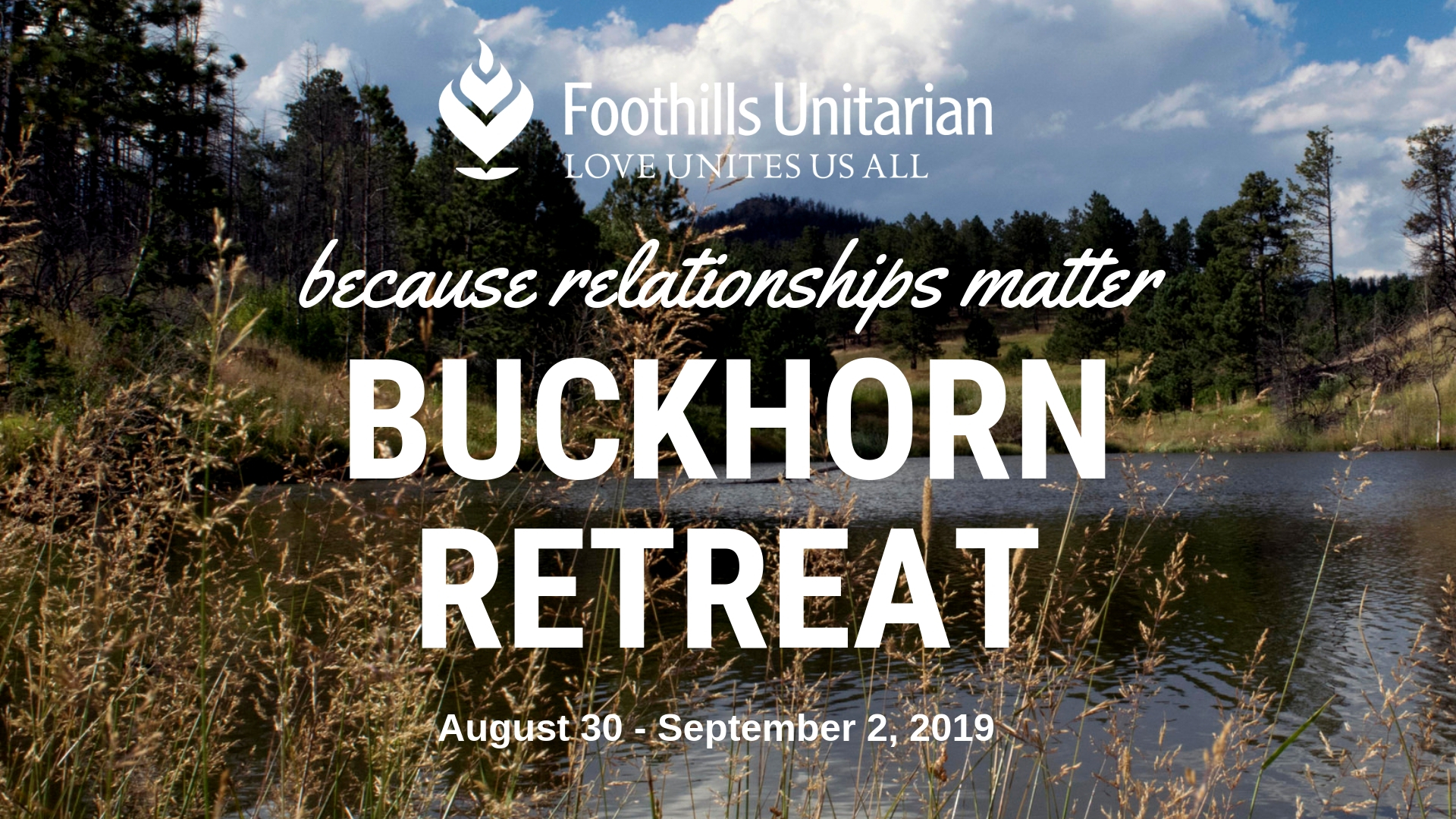 Join us at the Buckhorn Retreat