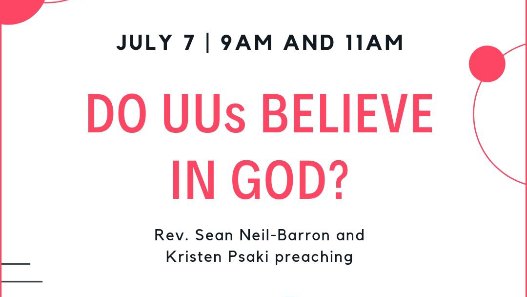 Do UUs Believe in God?