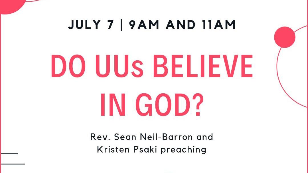 Do UUs Believe in God?