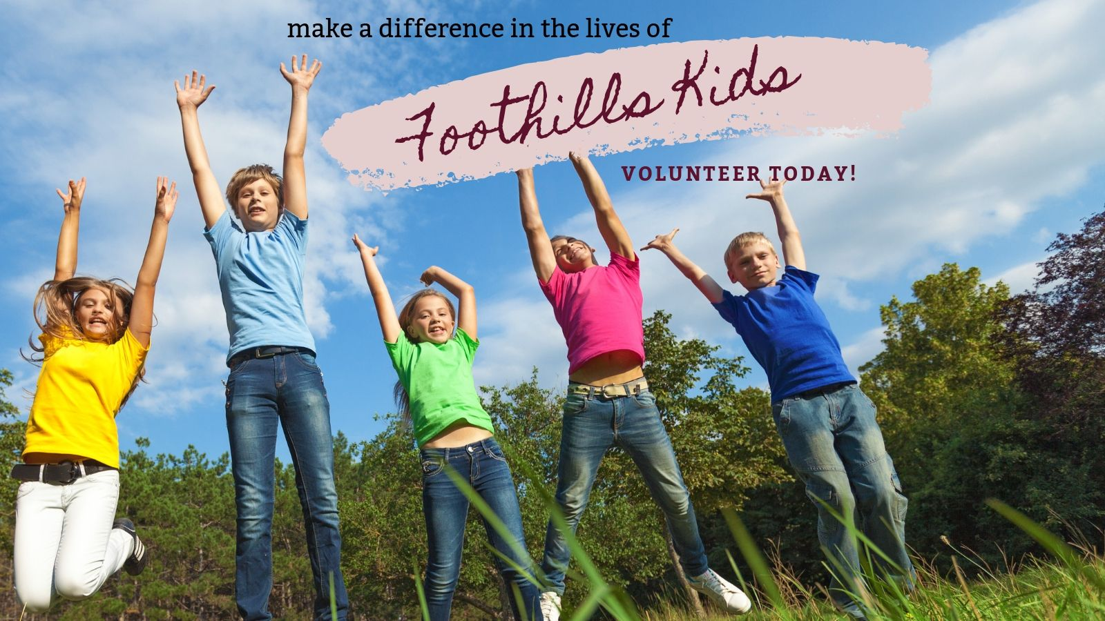 Change Lives! Be a Kids' Small Group Leader!