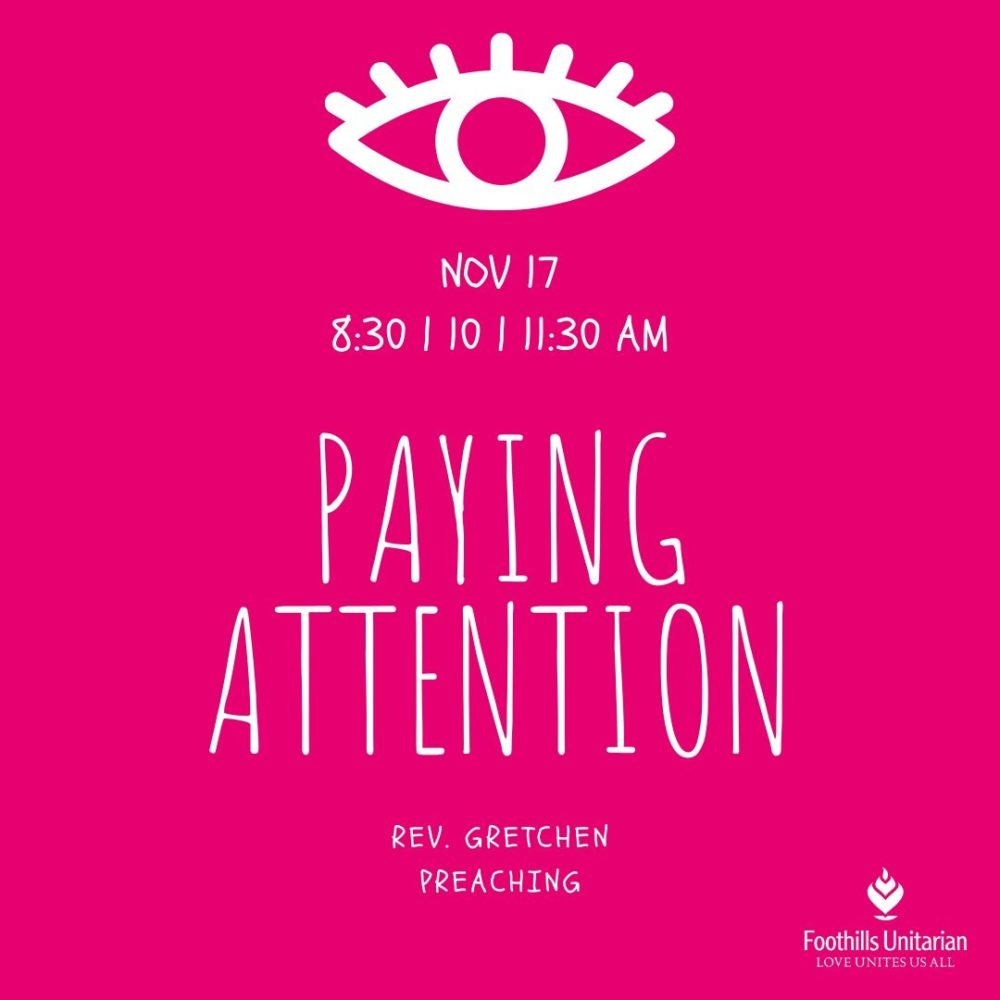 Paying Attention Image