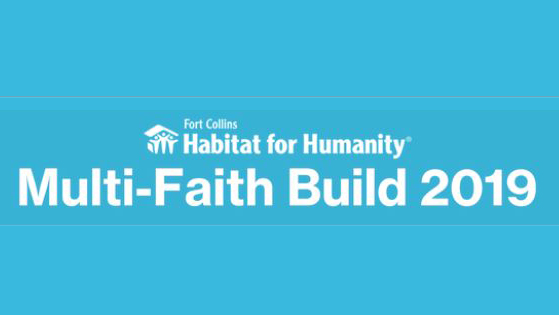 Habitat Multi-Faith Build Volunteer Day Report