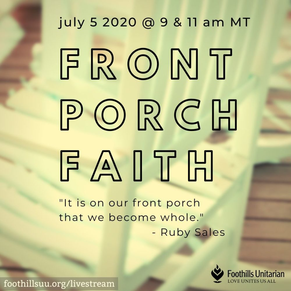 Front Porch Faith Image