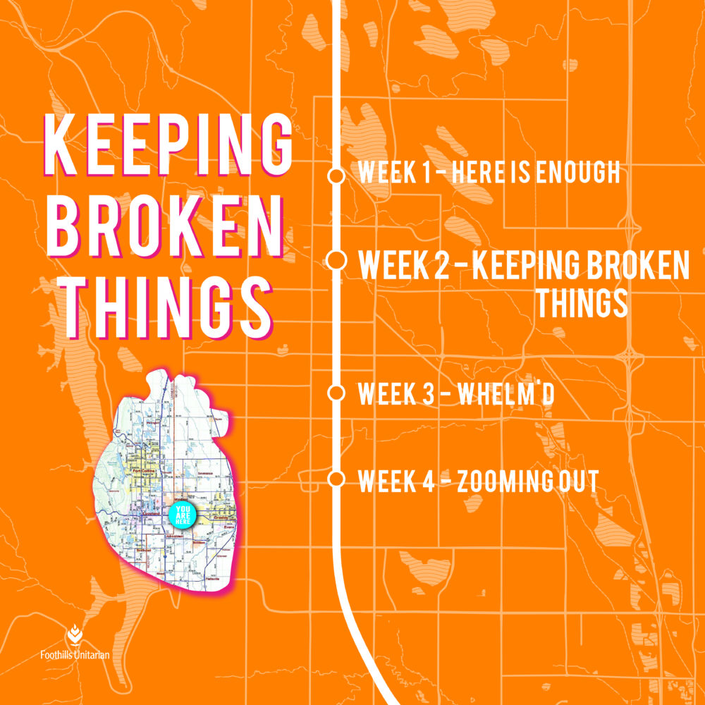 Keeping Broken Things - part 1 Image