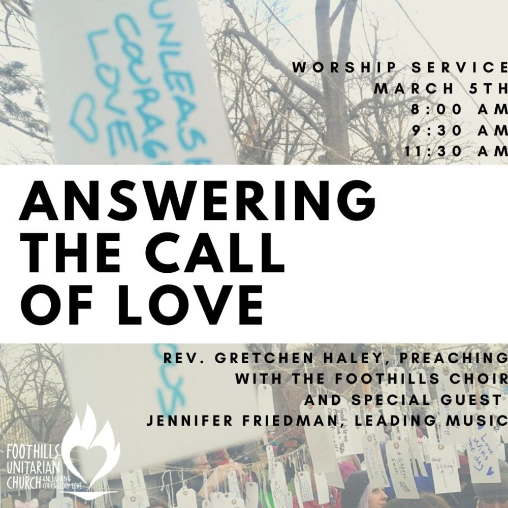 Answering the Call of Love