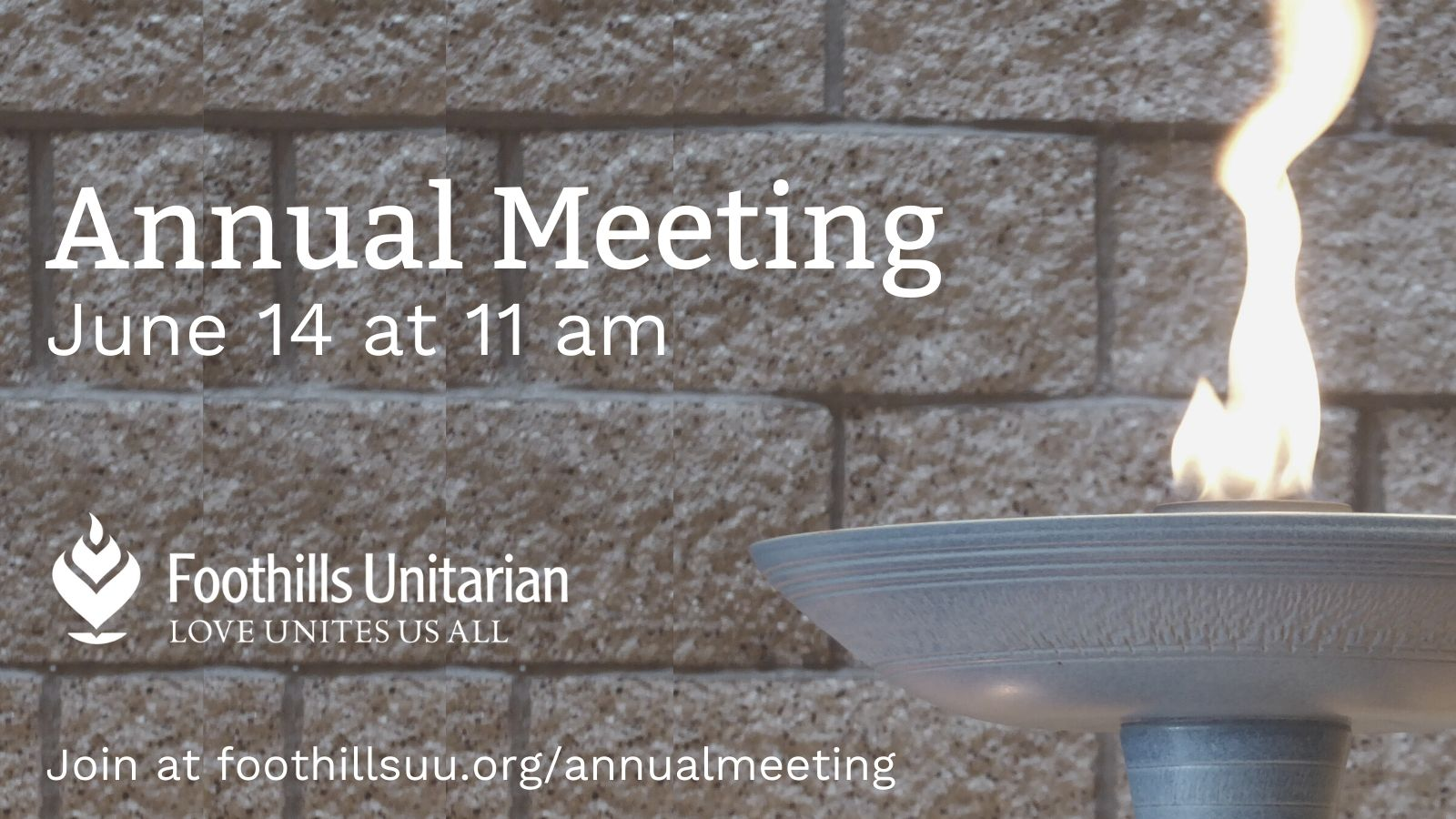 Join us for our Annual Congregational Meeting!