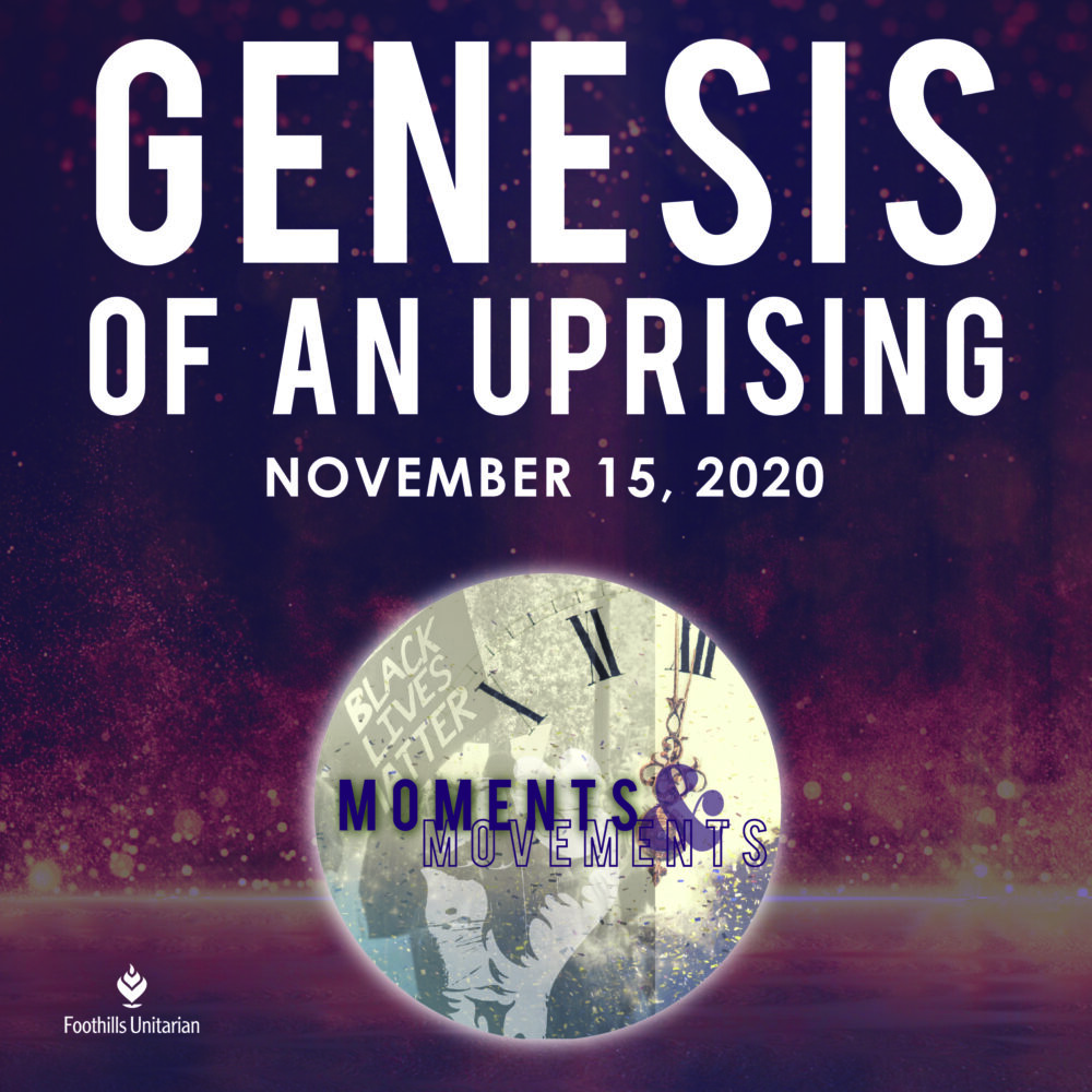 Genesis of an Uprising: A Conversation with Dr. Dan McKanan (Shortened Sunday Service Version) Image
