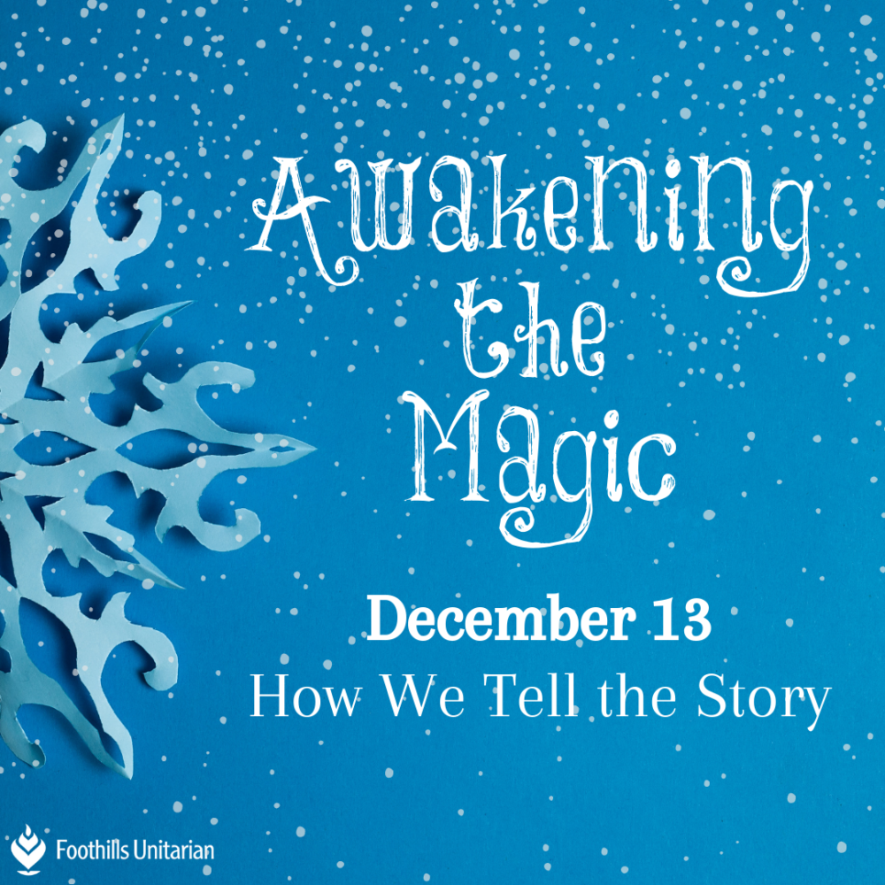 Homily: How We Tell the Story | Rev. Gretchen Haley | December 13, 2020 Image