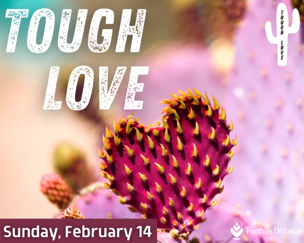 Homily Part 1: Tough Love | Rev. Gretchen Haley | February 14, 2021