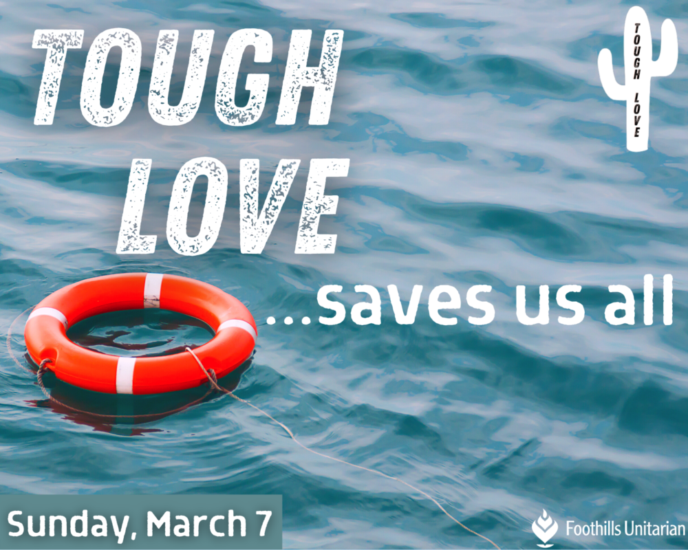 Homily: Tough Love Saves Us All | Rev. Gretchen Haley | March 7, 2021