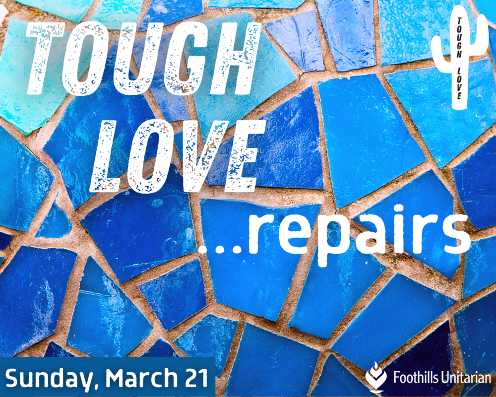 Homily: Tough Love Repairs | Rev. Sean Neil-Barron | March 21, 2021 Image