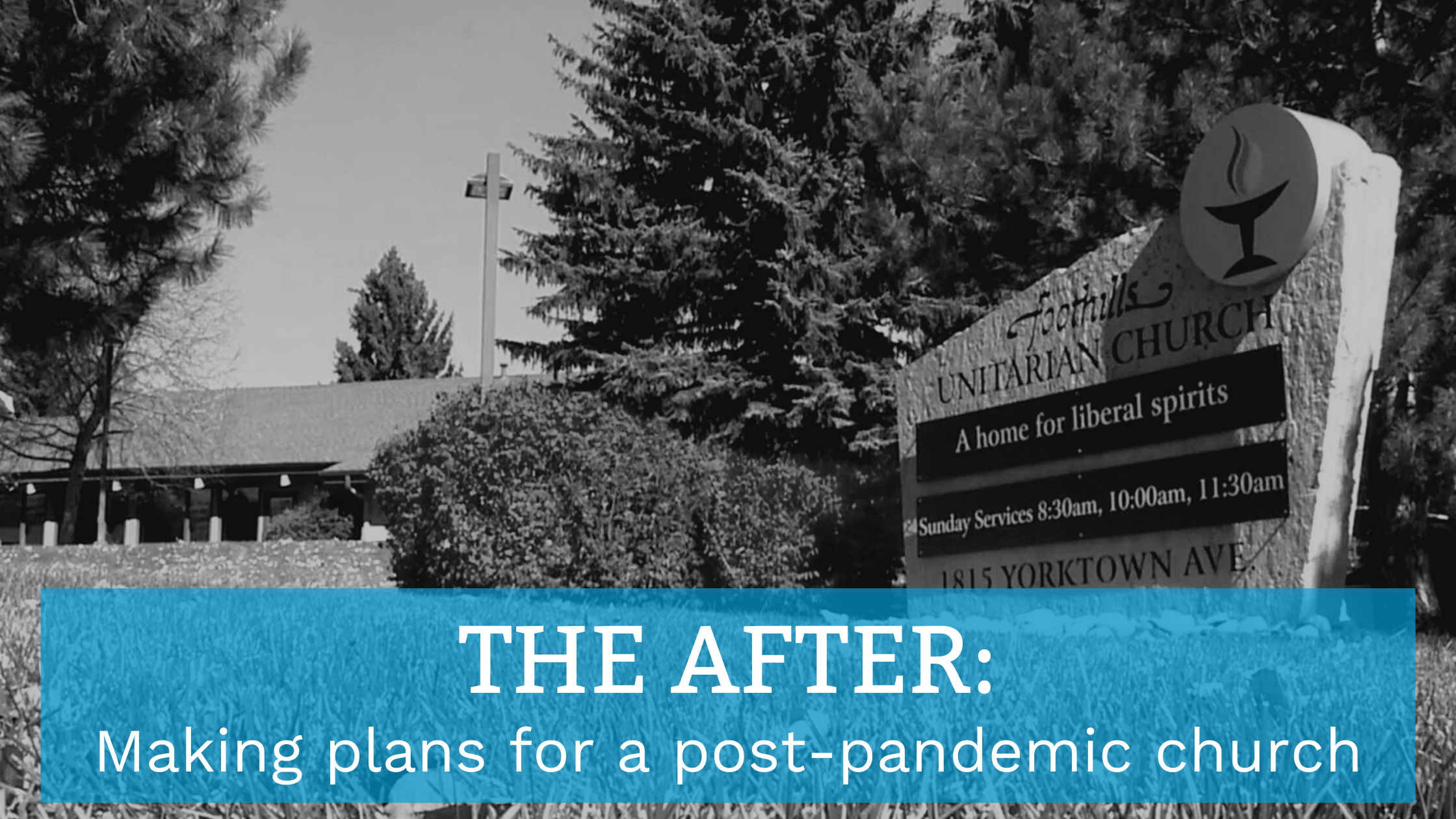 The After: Making Plans for Post-Pandemic Church​