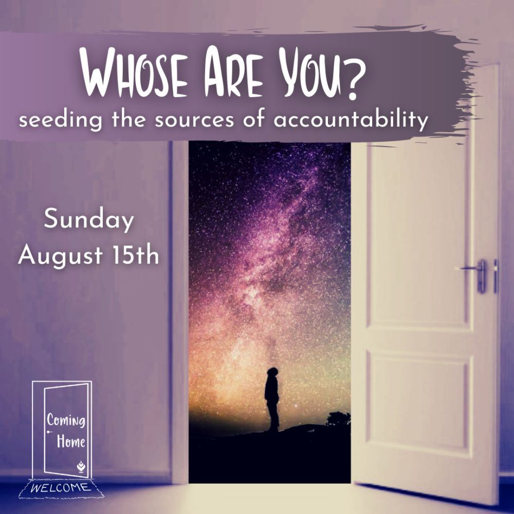 Homily Part One: Whose Are You? | Rev. Gretchen Haley | August 16, 2021 Image
