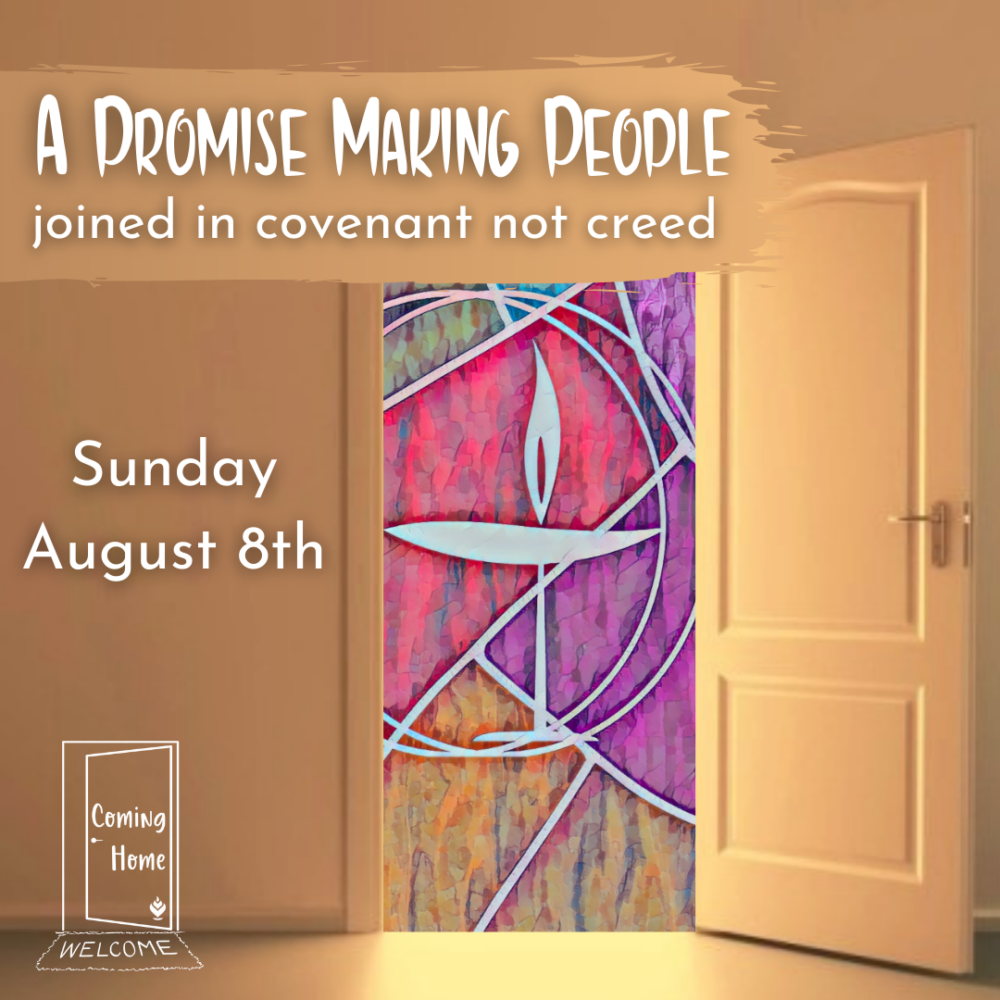Homily: Covenant and The Promise of Partnership | Rev. Gretchen Haley | August 8, 2021 Image