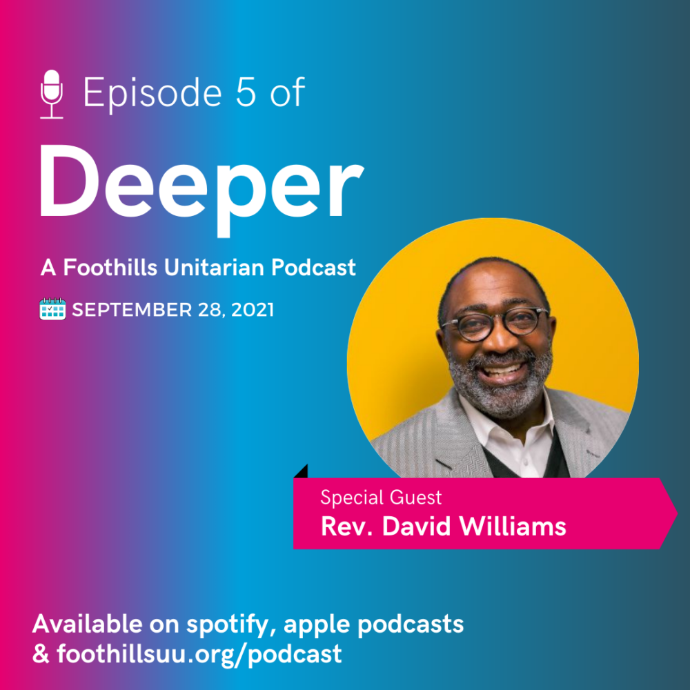 Deeper Episode Five: Loving our enemies and finding hope with Rev. David Williams Image
